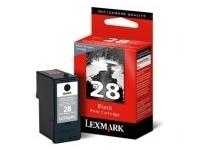 Lexmark Cartridge No. 28 - Schwarz - Original - Tintenpatrone LRP - für X2500, 2530, 2550, 5070, 5075, 5320, 5340, 5410, 5490, 5495; Z1300, 1310, 1320, 845