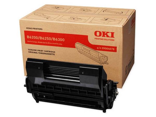 OKI - Schwarz - Original - Tonerpatrone - für B6200, 6200dn, 6200n, 6250, 6250n, 6300, 6300dn, 6300n, 6300nPS