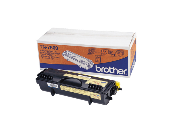 Brother TN7600 - Schwarz - Original - Tonerpatrone - für Brother DCP-8020, 8025, MFC-8420, 8820; HL-1650, 1670, 1850, 1870, 5030, 5040, 5050, 5070