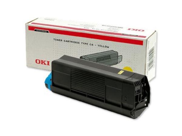 OKI - Gelb - Original - Tonerpatrone - für C5100, 5100n, 5200, 5200n, 5200ne, 5300, 5300dn, 5300n, 5300nccs, 5400, 5400dn, 5400n