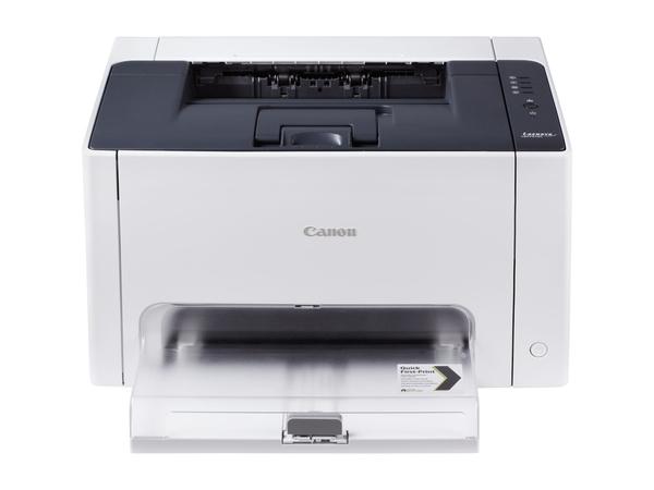 Canon i-SENSYS LBP7010C - Drucker - Farbe - Laser - A4/Legal - bis zu 16 Seiten/Min. (s/w) / bis zu 4 Seiten/Min. (Farbe) - Kapazität: 150 Blätter - USB