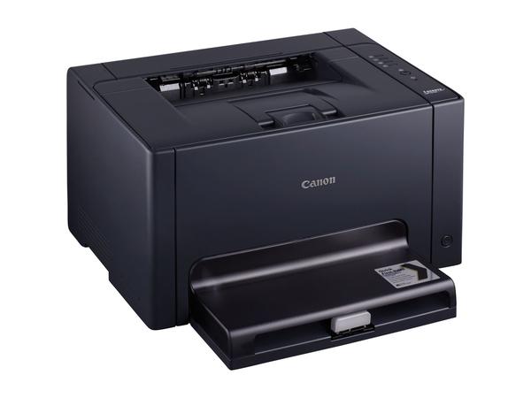 Canon i-SENSYS LBP7018C - Drucker - Farbe - Laser - A4/Legal - bis zu 16 Seiten/Min. (s/w) / bis zu 4 Seiten/Min. (Farbe) - Kapazität: 150 Blätter - USB