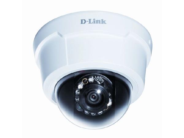 D-Link DCS-6113 Full HD Fixed Dome IP Camera - Netzwerk-Überwachungskamera - Kuppel - Farbe (Tag&Nacht) - 1920 x 1080 - Audio