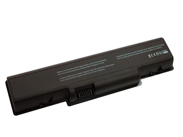 V7 - Laptop-Batterie - 1 x Lithium-Ionen 6 Zellen 4500 mAh - Schwarz - für Acer Aspire 4310, 4315, 4320, 4520
