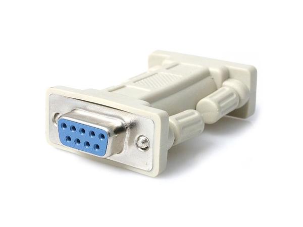 StarTech.com DB9 RS232 Serial Null Modem Adapter - F/F - Nullmodemadapter - DB-9 (W) bis DB-9 (W) - für P/N: PCI2S232485I, PCI8S950LP, SV1115IPEXGB, SV1115IPEXT, SV1110IPEXT-KIT, SV1110IPEXGB,
