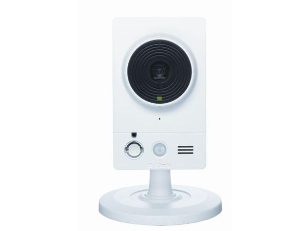 D-Link DCS-2210 Full HD Cube IP Camera - Netzwerk-Überwachungskamera - Farbe (Tag&Nacht) - 1920 x 1080 - Audio - LAN 10/100