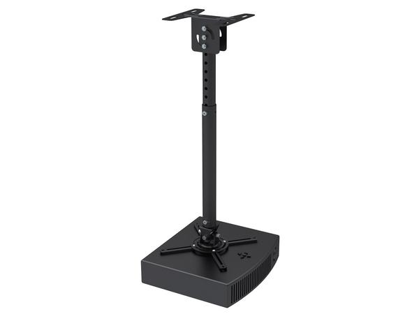 NewStar Universal Projector Ceiling Mount BEAMER-C100 - Deckenhalterung für Projektor - Schwarz