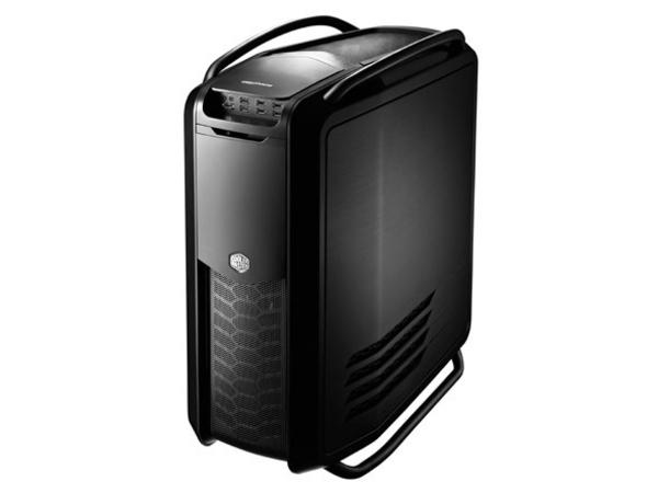 Cooler Master Cosmos II - Full Tower - Erweitertes ATX - ohne Netzteil (EPS12V/ PS/2) - schwarz - USB/Audio/E-SATA