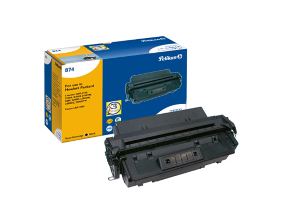 Pelikan 874 - Schwarz - Tonerpatrone (entspricht: Canon EP-32, HP C4096A ) - für Canon LBP-1000; HP LaserJet 2100, 2200