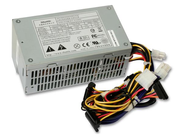 Shuttle PC55 Silent X - Stromversorgung (intern) - Wechselstrom 100/240 V - 450 Watt - aktive PFC - für XPC P 2500, P 2600, P 3100, P 8100, P 9500, P2 2700, P2 3700, P2 3900