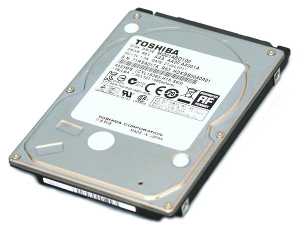 HDD 1TB SATA II 2.5IN