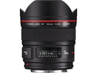 Finanzierung  Canon EF - Weitwinkelobjektiv - 14 mm - f/2.8 L II USM - Canon EF - f�r EOS 1000, 1D, 50, 500, 5D, 7D, Kiss F, Kiss X2, Kiss X3, Rebel T1i, Rebel XS, Rebel XSi