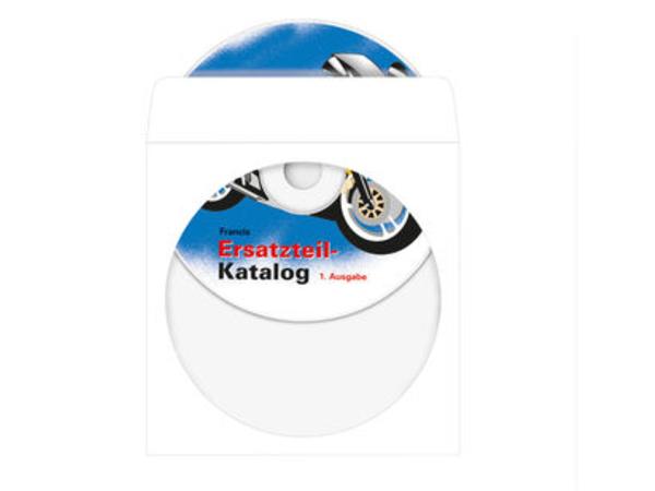 HERMA - CD-Hülle - Kapazität: 1 CD - weiß (Packung mit 1000 )