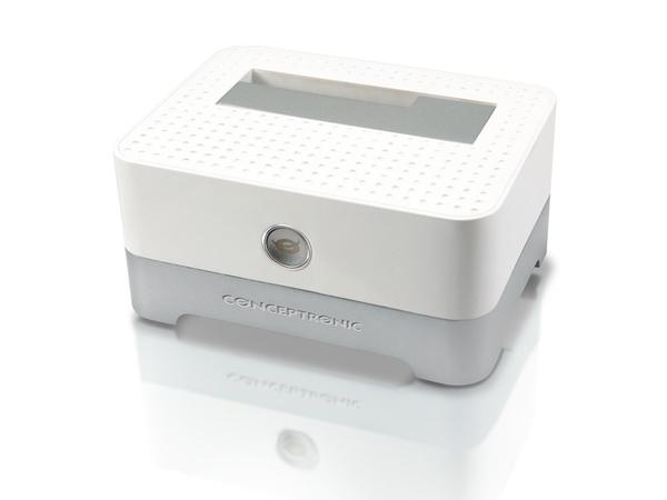 Conceptronic CHDDOCKUSB3 2,5/3,5 inch Hard Disk Docking Station USB 3.0 - Speicher-Controller mit Ein/Aus-Schalter - 6,4 cm/8,9 cm gemeinsam genutzt ( 2,5