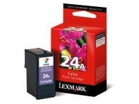 Lexmark Cartridge No. 24A - Farbe (Cyan, Magenta, Gelb) - Original - Tintenpatrone - für X3430, 3530, 3550, 4530, 4550, 4550 Business Edition; Z1410, 1420