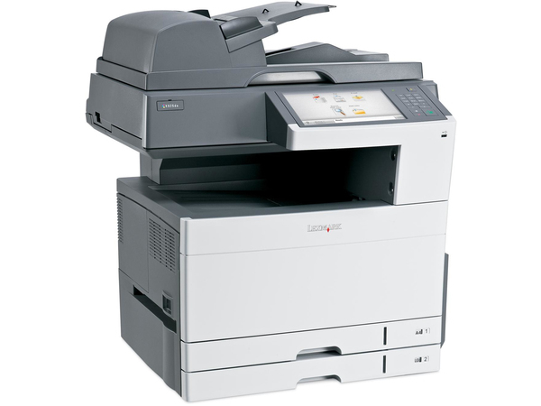 Lexmark X925de, LED, Colour printing, Colour copying, Colour scanning, Colour faxing, 200000 Seiten pro Monat