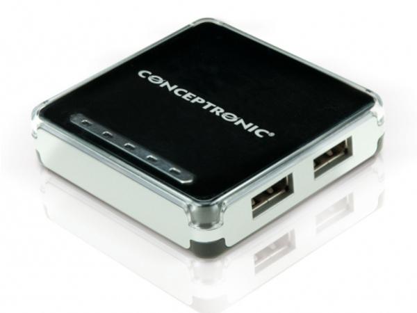 Conceptronic C4USB2 - Hub - 4 x USB 2.0 - Desktop