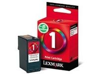 Lexmark Cartridge No. 1 - Farbe (Cyan, Magenta, Gelb) - Original - Tintenpatrone - für X2310, 2330, 2350, 2450, 2470, 2470m, 3430, 3450, 3470; Z730, 735