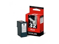 Lexmark Cartridge No. 32 - Schwarz - Original - Tintenpatrone - für P43XX, 6250, 6350, 915; X33XX, 52XX, 54XX, 7170, 73XX, 83XX; Z81X