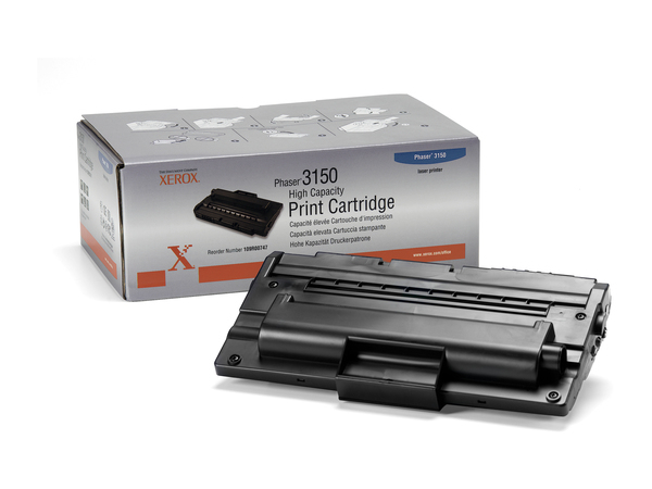Xerox High-Capacity - High Capacity - Schwarz - Original - Tonerpatrone - für Phaser 3150