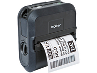 Brother RuggedJet RJ-4030 - Etikettendrucker - Thermopapier - Rolle (11,8 cm) - 203 dpi - bis zu 127 mm/Sek.