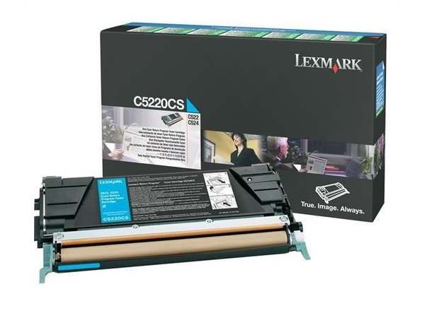 Toner Lexmark C522n           cyan C5220CS