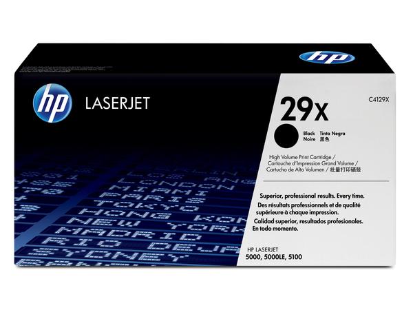 Toner HP Laser 5000/5100 Serie C4129X black