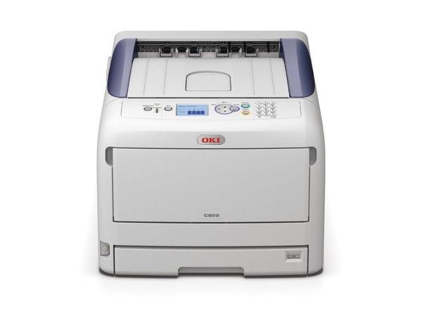 OKI C822n - Drucker - Farbe - LED - A3 - 1200 x 600 dpi