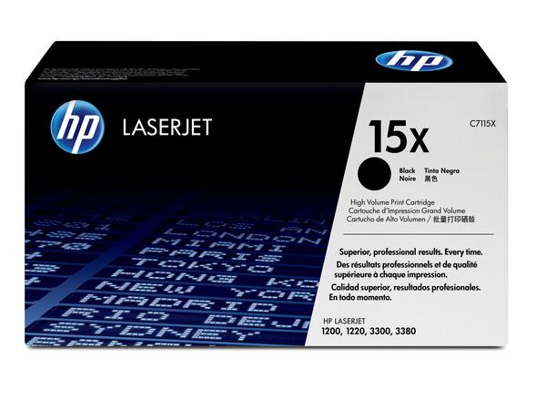 Toner HP LJ1120       black       C7115X    3500 Seiten