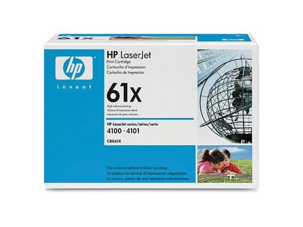 Toner HP Laser 4100 /10000 Seiten C8061X black