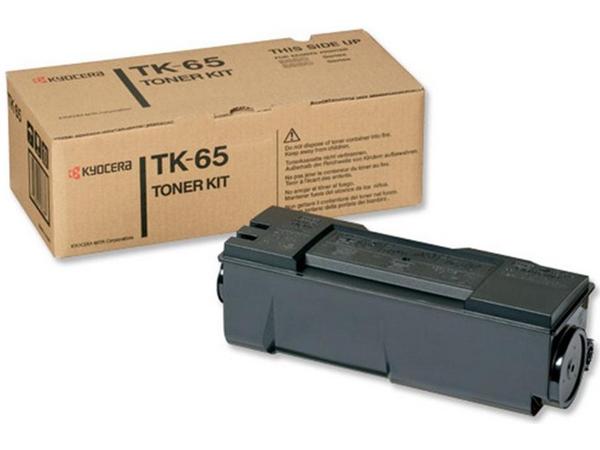 Kyocera TK 65 - Schwarz - Original - Tonerpatrone - für FS-3820DN, 3820DN/KL3, 3820DTN, 3820N, 3820TN, 3830DN, 3830DTN, 3830DTN/KL3, 3830N, 3830TN