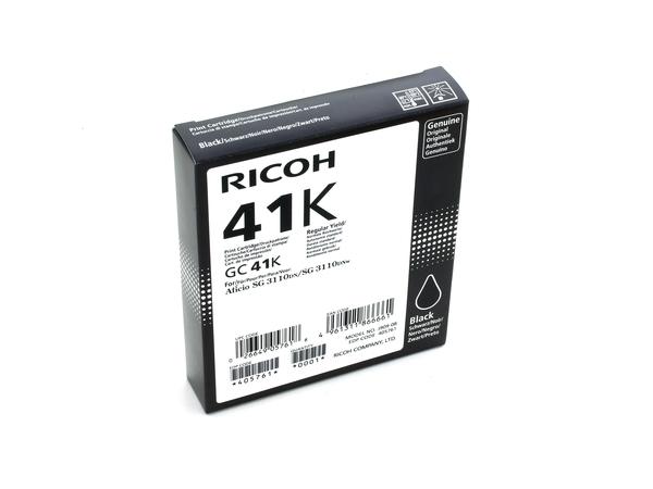Ricoh - Schwarz - Original - Tintenpatrone - für Ricoh Aficio SG 3100, Aficio SG 3110, Aficio SG 7100, SG 3110, SG 3120, SG K3100