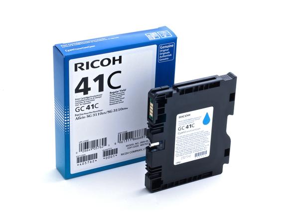 Ricoh - Cyan - Original - Tintenpatrone - für Ricoh Aficio SG 3100, Aficio SG 3110, Aficio SG 7100, SG 3110, SG 3120