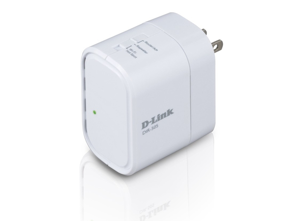 D-Link DIR-505 - Wireless Router - 802.11b/g/n - 2,4 GHz