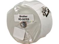 Brother RD-S07E5 - Nichtklebende Endlospapieretiketten - Schwarz auf Weiß - Rolle (5,8 cm x 86 m) - 1 Rolle(n) - für TD 4000, 4100N RDS07E5