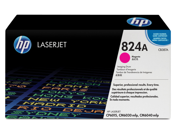 HP 824A - 1 - Magenta - Trommel-Kit - für Color LaserJet CL2000, CM6030, CM6040, CP6015