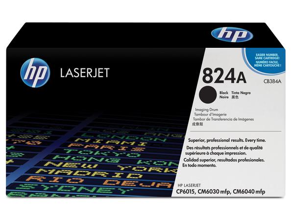 HP 824A - 1 - Schwarz - Trommel-Kit - für Color LaserJet CL2000, CM6030, CM6040, CP6015