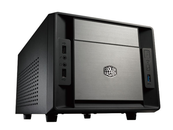 Cooler Master Elite 120 Advanced - Ultra Small Form Factor - Mini-ITX ( ATX / PS/2 ) - Schwarz - USB/Audio