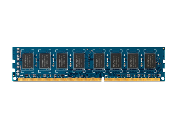 HP - DDR3 - 4 GB - DIMM 240-PIN - 1600 MHz / PC3-12800 - ungepuffert