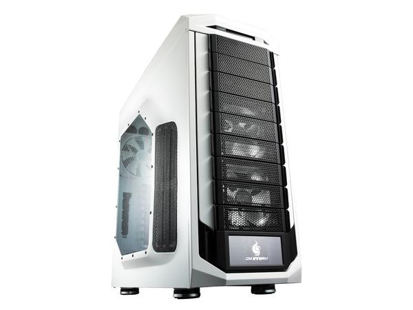 Cooler Master CM Storm Stryker - Full Tower - ATX - ohne Netzteil (ATX12V / EPS12V / PS/2) - Schwarz und Weiß - USB/Audio