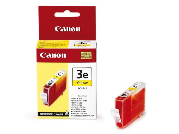 Canon BCI-3EY - Gelb - Original - Tintenbehälter - für BJ-i6500, S400, S520, S530; BJC-6200; i550, 6500; S520, 530, 630, 6300, 750