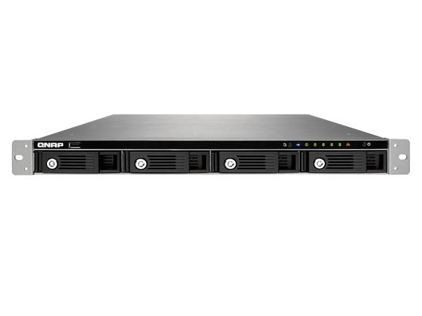 QNAP TS-469U-SP Turbo NAS - NAS-Server - 4 Schächte - Rack - einbaufähig - SATA 6Gb/s