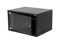 Triton Delta 4S - Mount cabinet - wall mountable - Schwarz, RAL 9005 - 6U - 48.3 cm (19