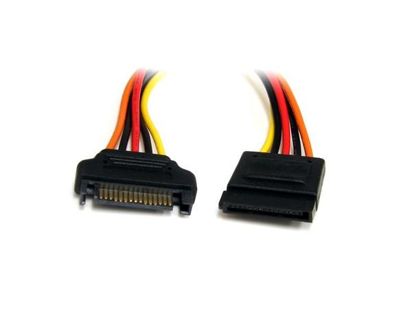 StarTech.com 12in 15 pin SATA Power Extension Cable - Spannungsversorgungs-Verlängerungskabel - SATA Leistung (M) bis SATA Leistung (W) - 30.5 cm