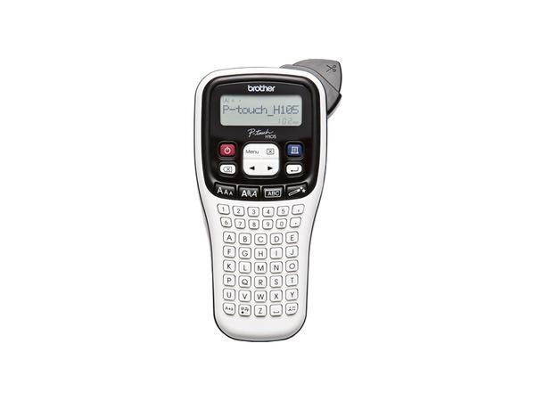 Brother PT-H105, Wärmeübertragung, 180 x 180 DPI, 20 mm/sek, 9 mm, LCD, 80 Zeichen
