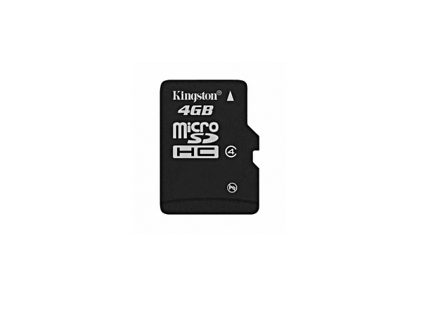 Kingston - Flash-Speicherkarte - 4 GB - Class 4 - microSDHC
