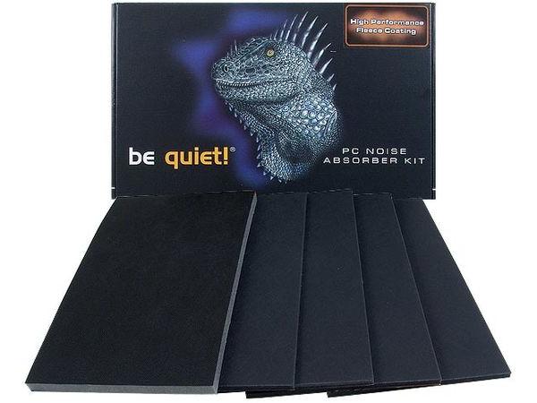 be quiet! Noise Absorber Kit Universal Midi - Systemgeräusch-Dämpferkit