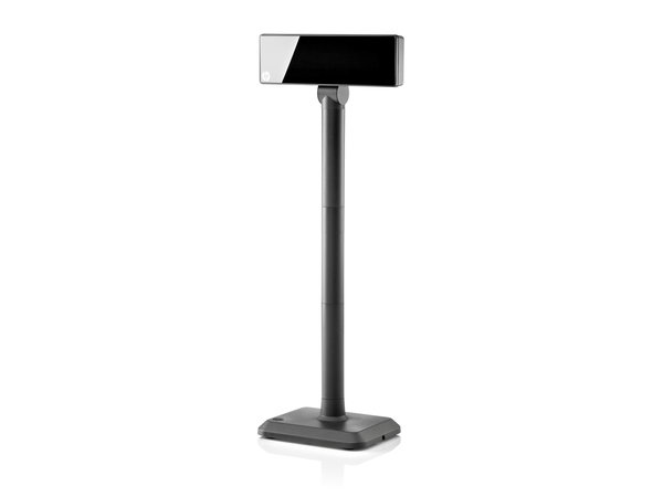 HP Graphical POS Pole Display - Kundenanzeige - 700 cd/m² - USB - HP Jack Black - USB