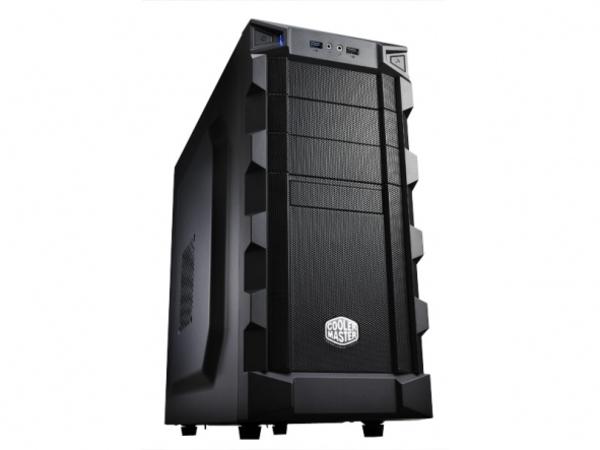Cooler Master K280 - Midi Tower - ATX - ohne Netzteil ( ATX / PS/2 ) - Schwarz - USB/Audio