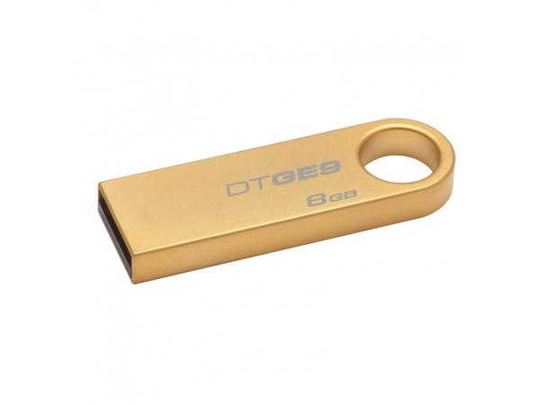 USB-Stick   8GB Kingston DataTraveler GE9 (gold metal) retail